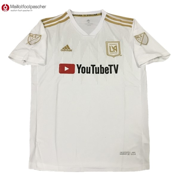 Maillot Foot Pas Cher Los Angeles Galaxy Exterieur 2018/2019 Blanc