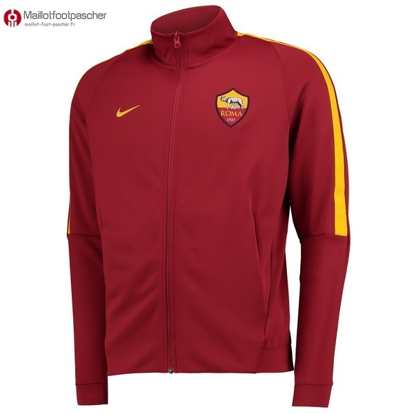Veste Foot Pas Cher AS Roma 2017/2018 Rouge