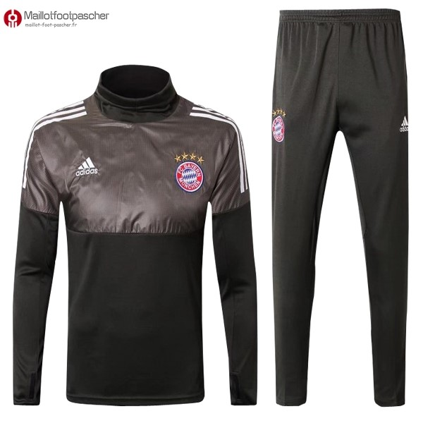 Survetement Foot Pas Cher Bayern Munich 2017/2018 Gris Marron