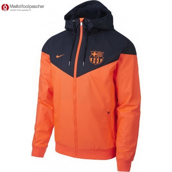 Coupe Vent Barcelona 2018/2019 Bleu Orange