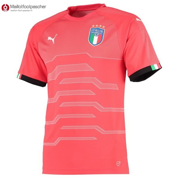 Maillot Foot Pas Cher Italie Gardien 2018 Rose