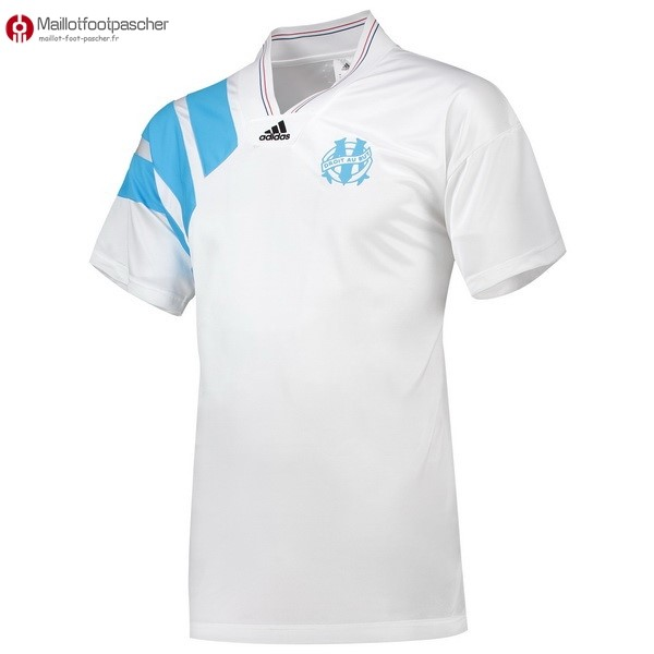 Maillot Foot Pas Cher Marseille 25th 1993 Blanc