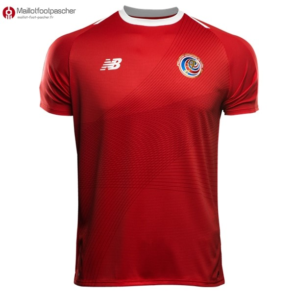 Maillot Foot Pas Cher Costa Rica Domicile 2018 Rouge