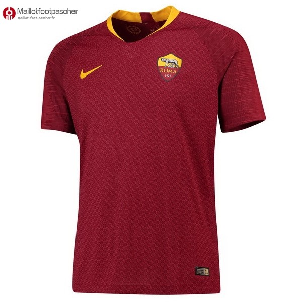 Maillot Foot Pas Cher As Roma Domicile 2018/2019 Rouge