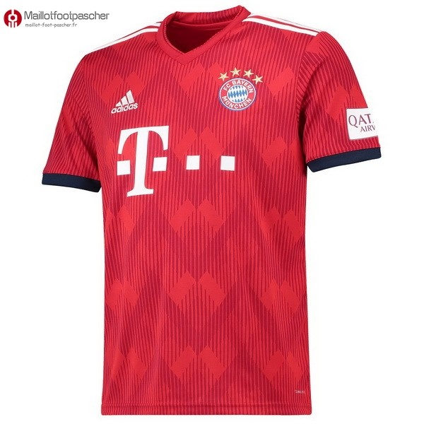 Maillot Foot Pas Cher Bayern Munich Domicile 2018/2019 Rouge