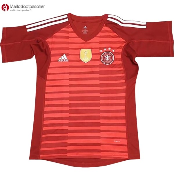 Maillot Foot Pas Cher Allemagne Gardien 2018 Rouge