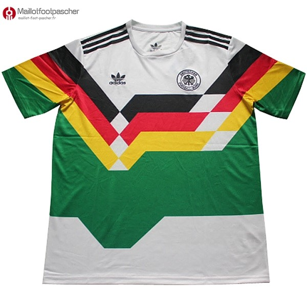 Maillot Foot Pas Cher Allemagne Retro 1990 Vert