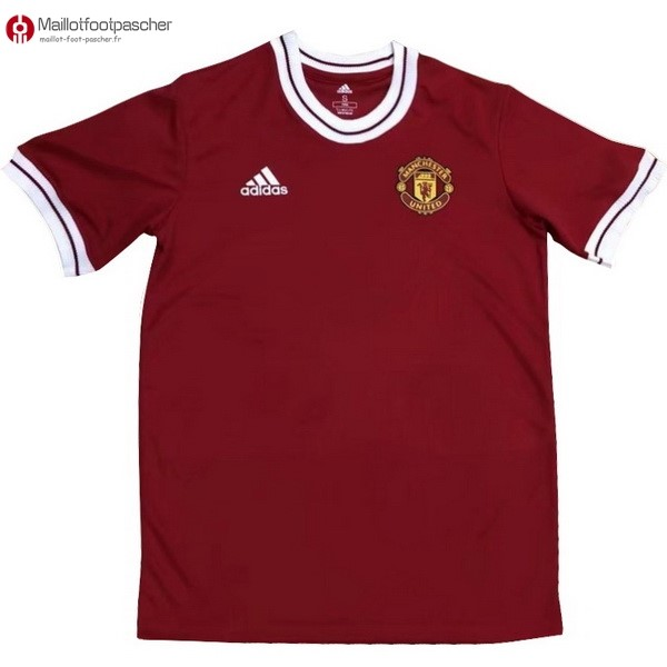 Maillot Foot Pas Cher Manchester United Zlatan Ibrahimovic 2018/2019 Rouge