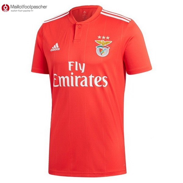 Maillot Foot Pas Cher Benfica Domicile 2018/2019 Rouge