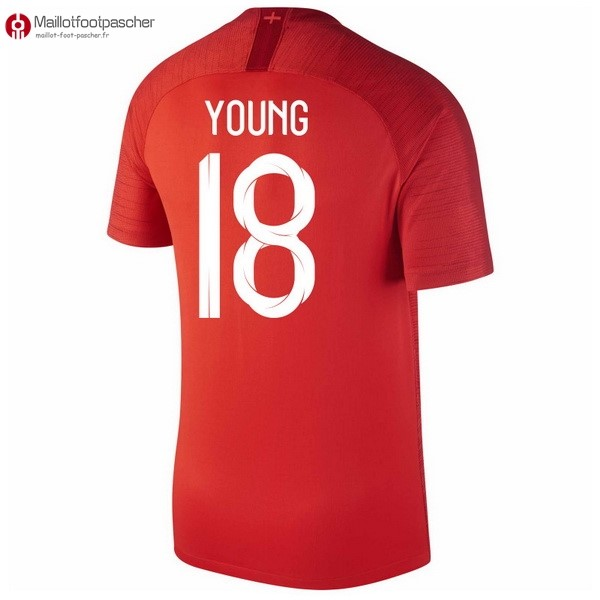 Maillot Foot Pas Cher Angleterre Exterieur Young 2018 Rouge