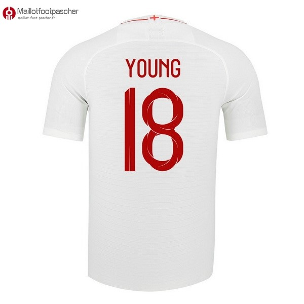 Maillot Foot Pas Cher Angleterre Domicile Young 2018 Blanc