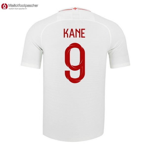 Maillot Foot Pas Cher Angleterre Domicile Kane 2018 Blanc