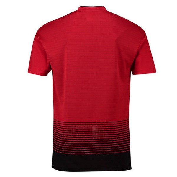 Maillot Foot Pas Cher Manchester United Domicile 2018/2019 Rouge
