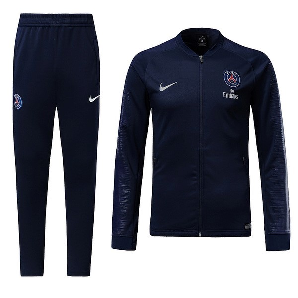 Survetement Foot Pas Cher Paris Saint Germain 2018/2019 Bleu Marine
