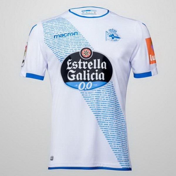 Maillot Foot Pas Cher Deportivo La Corogne Third 2018/2019 Blanc