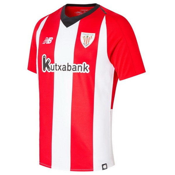 Maillot Foot Pas Cher Athletic Bilbao Domicile 2018/2019 Rouge Blanc