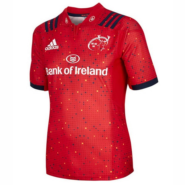 Maillot Rugby Pas Cher Munster Domicile 2018/2019 Rouge