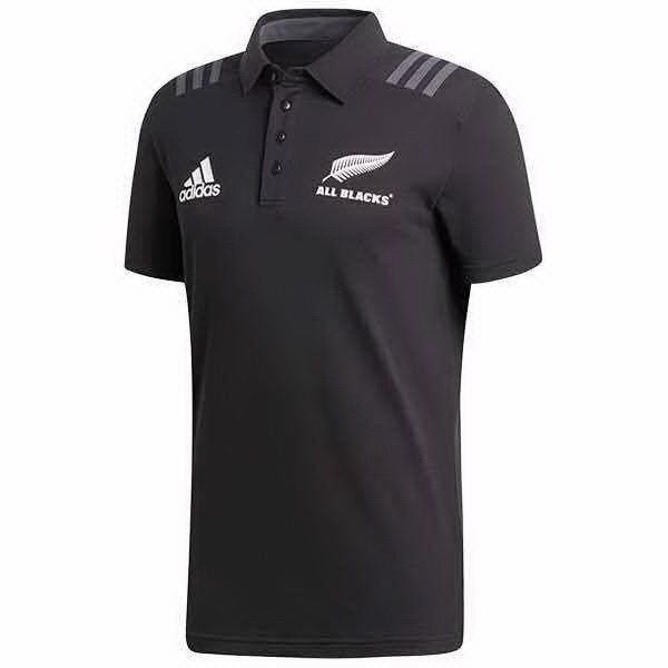 Maillot Rugby Pas Cher All Blacks Polo Foot Pas Cher 2018 Noir