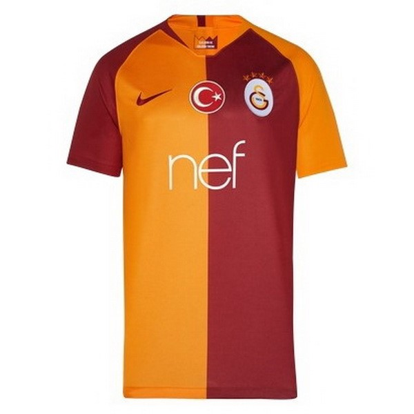 Maillot Foot Pas Cher Galatasaray SK Domicile 2018/2019 Orange