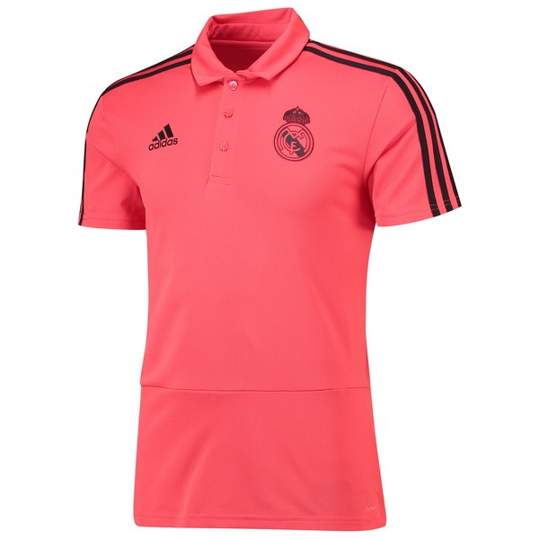 Polo Foot Pas Cher Real Madrid 2018/2019 Rose