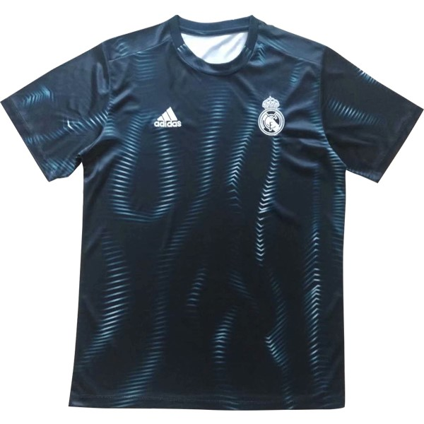 Maillot Foot Pas Cher Entrainement Real Madrid Bleu 2018/2019
