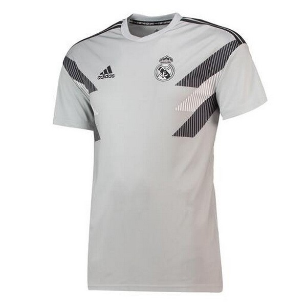 Maillot Foot Pas Cher Entrainement Real Madrid Gris 2018/2019
