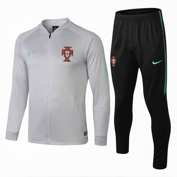Survetement Foot Pas Cher Portugal 2018 Gris