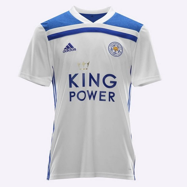 Thailande Maillot Foot Pas Cher Leicester City Third 2018/2019 Blanc