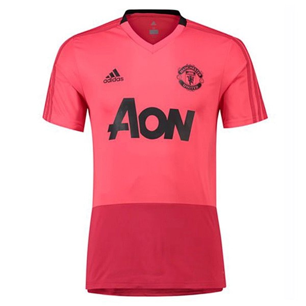 Maillot Foot Pas Cher Entrainement Manchester United 2018/2019 Rose