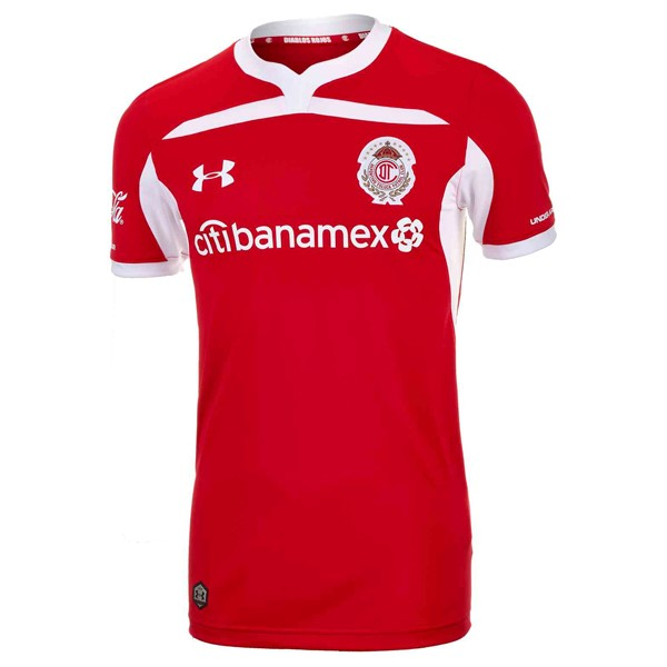 Maillot Foot Pas Cher Deportivo Toluca Domicile 2018/2019 Rouge