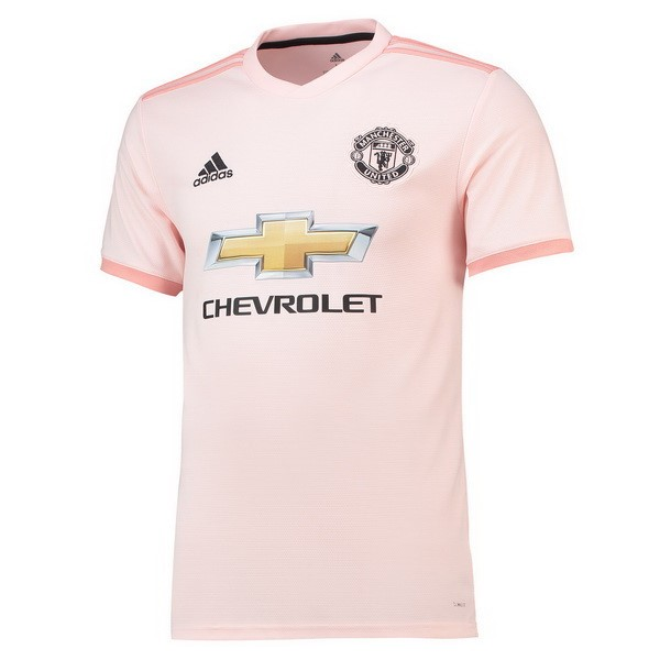 Maillot Foot Pas Cher Manchester United Exterieur 2018/2019 Rose