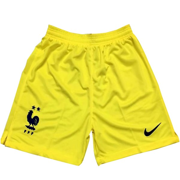 Pantalon Foot Pas Cher France Gardien 2018 Jaune
