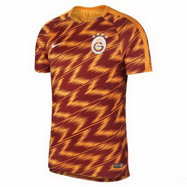 Maillot Foot Pas Cher Galatasaray SK Pre Match 2018/2019 Orange