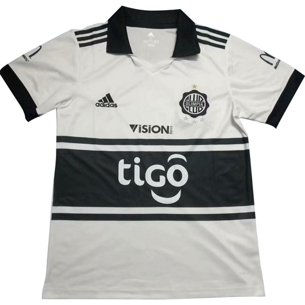 Maillot Foot Pas Cher Club Olimpia Domicile 2018/2019 Blanc