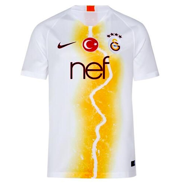 Maillot Foot Pas Cher Galatasaray Third 2018/2019 Blanc