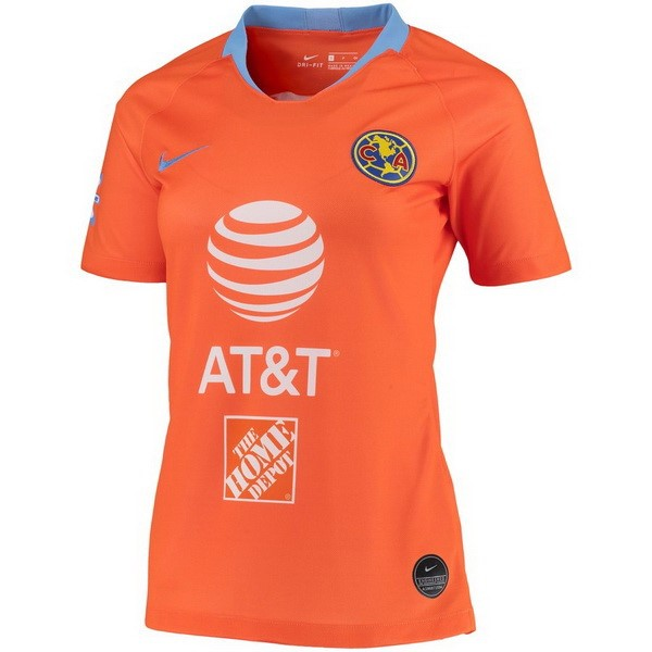 Maillot Foot Pas Cher Club América Third Femme 2019/2020 Orange