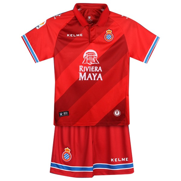 Maillot Foot Pas Cher Espanyol Third Enfant 2018/2019 Rouge