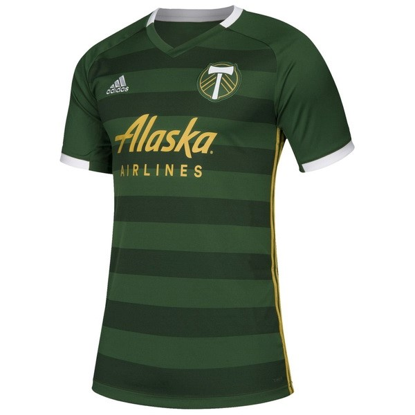 Maillot Foot Pas Cher Portland Timbers Domicile 2019/2020 Vert