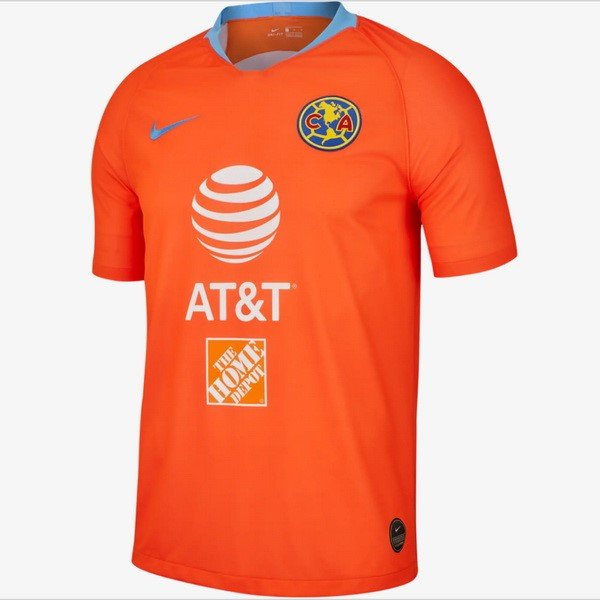 Maillot Foot Pas Cher Club América Third 2019/2020 Orange