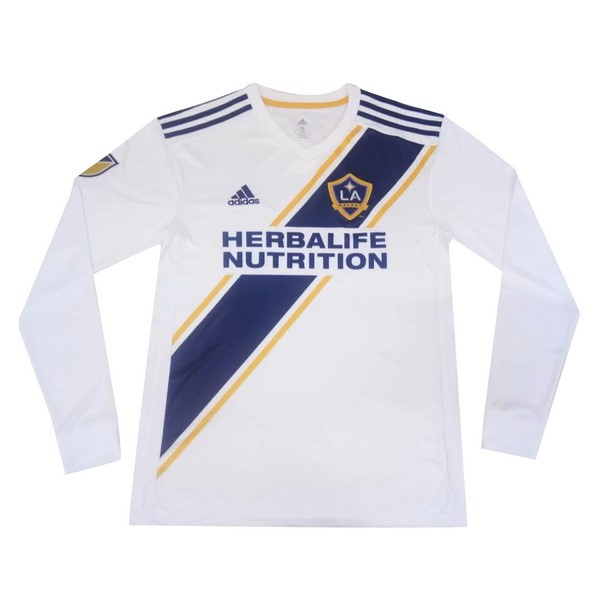 Maillot Foot Pas Cher Los Angeles Galaxy Domicile ML 2019/2020 Blanc