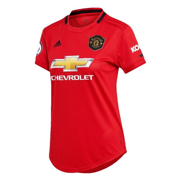 Maillot Foot Pas Cher Manchester United Domicile Femme 2019/2020 Rouge
