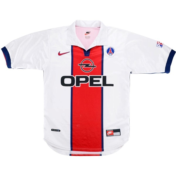 Maillot Foot Pas Cher Paris Saint Germain Exterieur Retro 1998 1999 Blanc