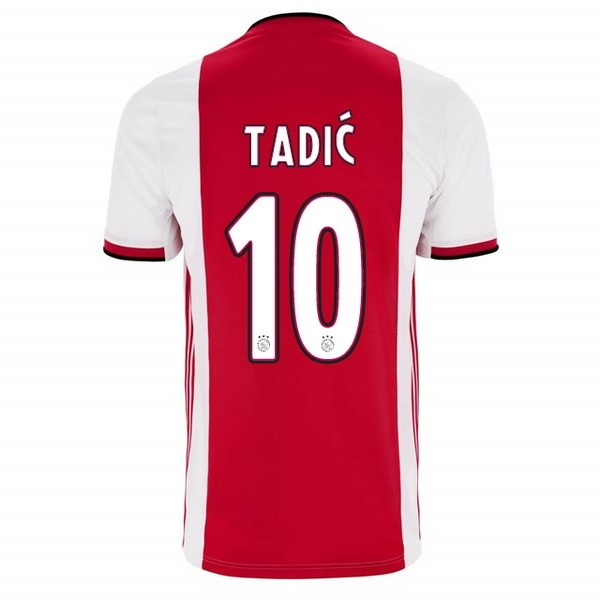 Maillot Foot Pas Cher Ajax Domicile Tadic 2019/2020 Rouge
