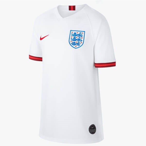 Maillot Foot Pas Cher Angleterre Domicile Femme 2019 Blanc