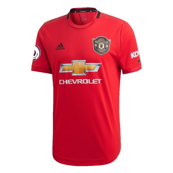 Maillot Foot Pas Cher Manchester United Domicile 2019/2020 Rouge