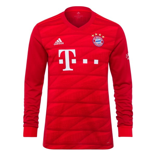 Maillot Foot Pas Cher Bayern Munich Domicile ML 2019/2020 Rouge