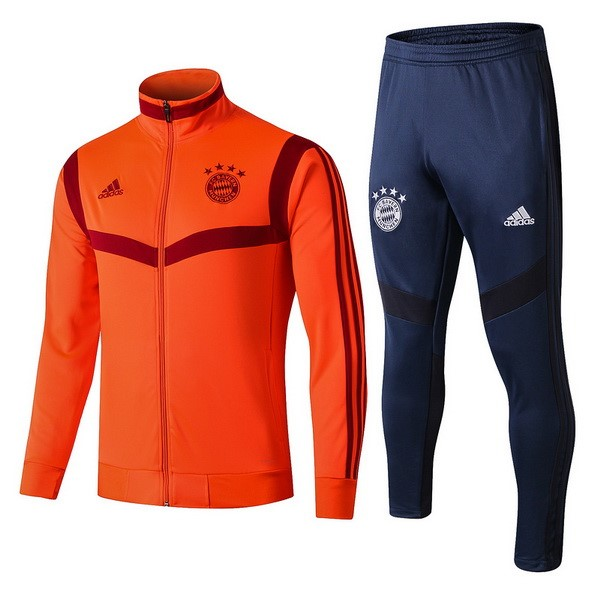 Survetement Foot Pas Cher Bayern Munich 2019/2020 Orange Bleu