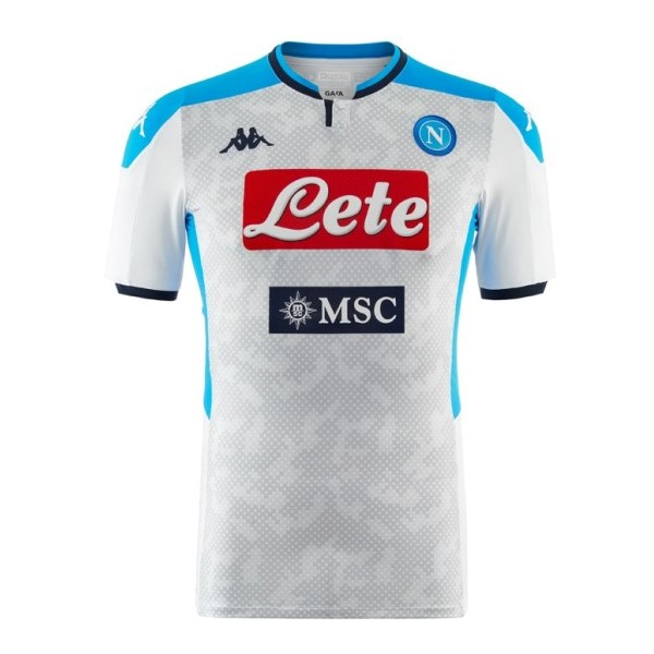 Maillot Foot Pas Cher Napoli Third 2019/2020 Gris