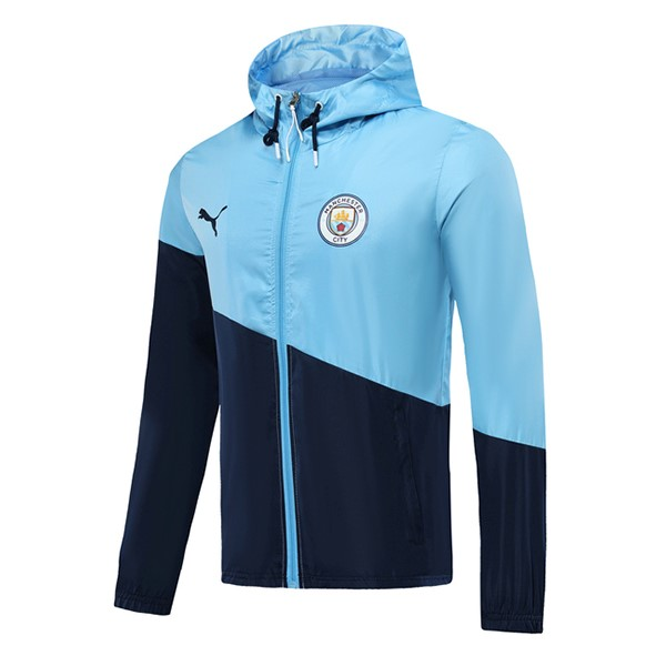 Coupe Vent Manchester City 2019/2020 Azul Clair