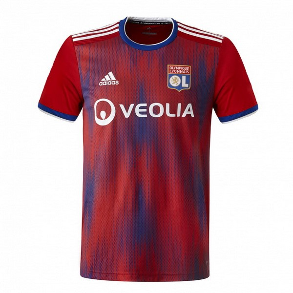 Maillot Foot Pas Cher Lyon Third 2019/2020 Rouge